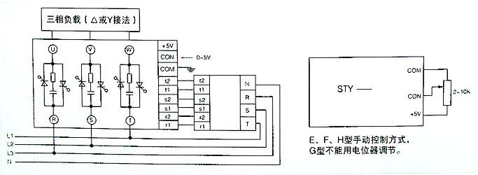 三相交流调压电路原理