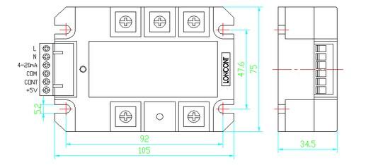 三相整流固态调压器—杭州晶谷电子有限公司