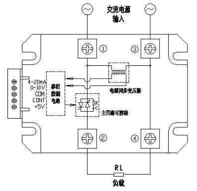 单相交流固态调压器